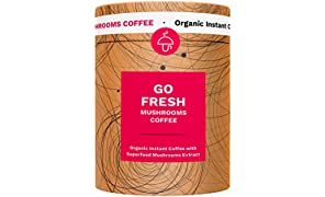 Coffee infused with Mushrooms - Go Sharp or Go Fresh, (Go Fresh)