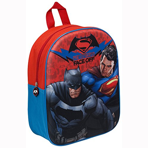 Batman vs Superman 3d Junior mochila