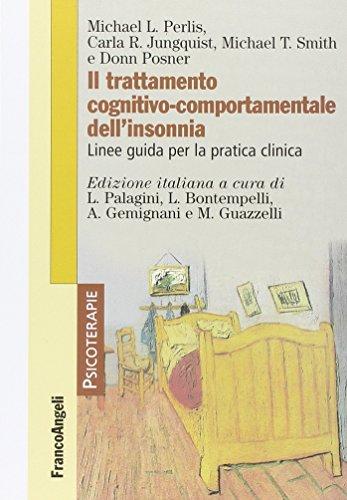 Il trattamento cognitivo-comportamentale dell'insonnia. Linee guida per la pratica clinica