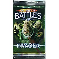 Doctor Who Battles In Time Invader Factory Sealed Packet [9 Cards]