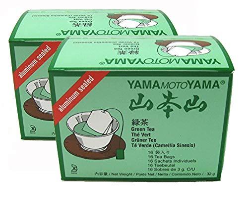 2 x Japanese (sencha) Green Tea by YamaMotoYama - 16 bags
