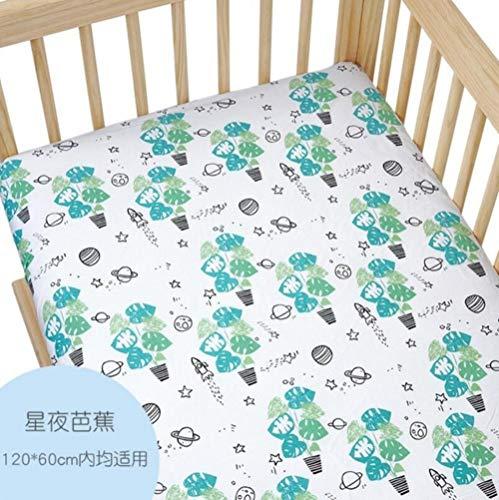PENVEAT Neugeborenes Baby Matratze Bettbezug Spickzettel Baby