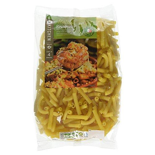 Morrisons Kitchen Italian Rigatoni Pasta, 500g Test