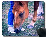 Yanteng Gaming Mouse Pad Custom, Pasto doméstico de Animal con Borde Cosido