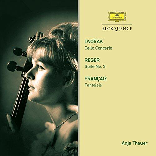 Françaix: Fantasy For Cello And Piano - 3. Elégie