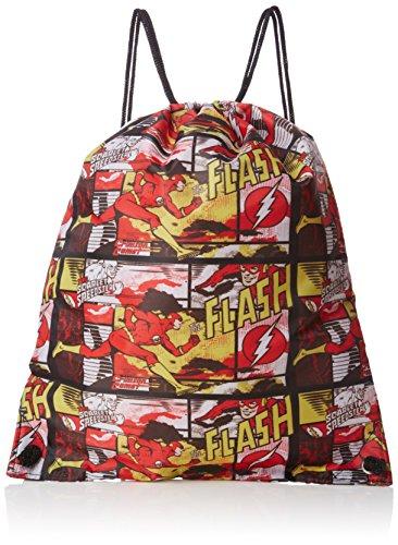 the-flash-comic-book-pump-gym-bag