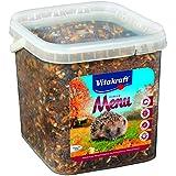Vitakraft Menu Premium, Seau de Nourriture Principale pour hérisson 2,5kg (1x 2,5kg)