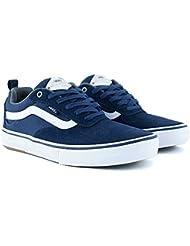 Vans Kyle Walker Pro Skateboard Chaussures, Bleu marine/blanc