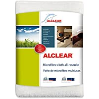 ALCLEAR 950007 Microfibre Cloth Multi-purpose, 32 x 32 cm, White preiswert