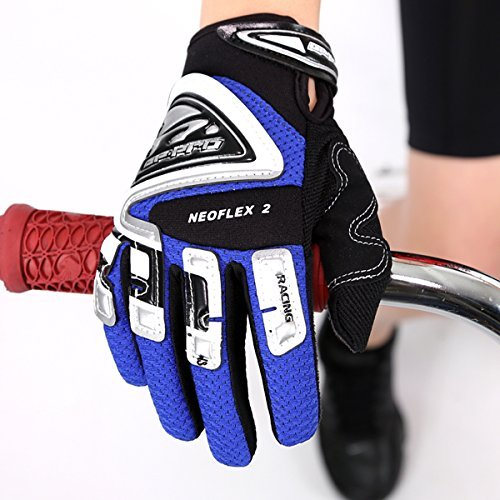 GP-Pro Neoflex 2 Cub Kinder Motorrad-Handschuhe - Offroad/Motocross - Blau - XXS