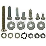 Normteile-Set S50, S51, S70 Gehäusemittelteil (Seitendeckel, Hupe, Schließhaken, Batteriehalter)