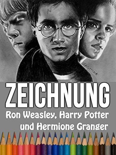 Clip: Zeichnung Ron Weasley, Harry Potter und Hermione Granger