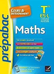 Maths Tle ES, L - Prépabac Cours & entraînement: cours, méthodes et exercices de type bac (terminale ES, L)