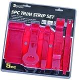 Kfz-Werkzeugsatz mit Montiereisen, Schaber, Werkzeug zum Reifenwechsel und Werkzeug zum Entfernen von Innenverkleidung, 5-teilig
