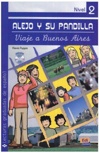 Alejo y su pandilla: Viaje a Buenos Aires: Lektüre mit Audio-CD
