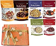 Nutty Gritties Special Dry Fruits Gift Box - Sports Mix, Kalmi Dates, Mix Berries, US Cranberries, Roasted Pis