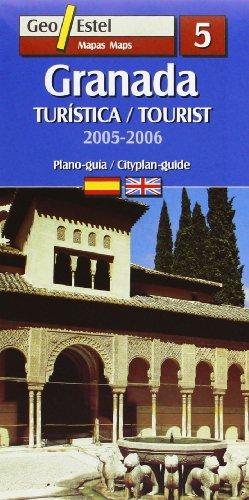 Granada. Turística / Tourist 2005-2006: Turistica / Tourist E.1:6.000 (Ciudades. Planos/Guia) por Mapes de Geoestel
