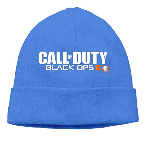 Huseki HggtdfK Call Of Duty Black Ops III Beanie Cap Hat Royalblue (Beanie Call Of Duty)