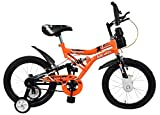 #10: Mad Maxx Shocker 16T Steel Single Speed Kids' Road Cycle, 16 Inches For 5-7 years(Neon Orange)