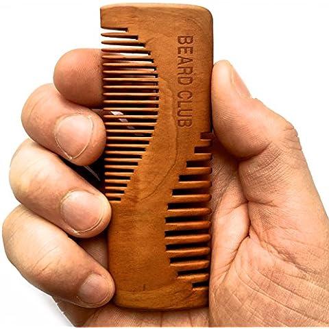 Lussuoso pettine da barba in legno | Beard Club |