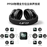 Bluedio U (UFO) Bluetooth Kopfhörer Revolution Patentierte 8 Tracks mit 3D Sound Effekt...