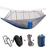 KOKR Ultraleichte Moskito Netz Camping Hängematte/300kg Tragfähigkeit, (280 x 150 cm) Atmungsaktiv/Fürs Freie oder einen Innengarten
