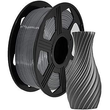 S SIENOC 3D printer Composite PETG 1.75mm Printer filament with coil 1kg PETG Gray