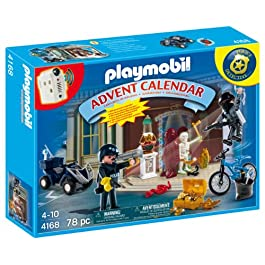 Playmobil 4168–Calendario dell' Avvento Polizia