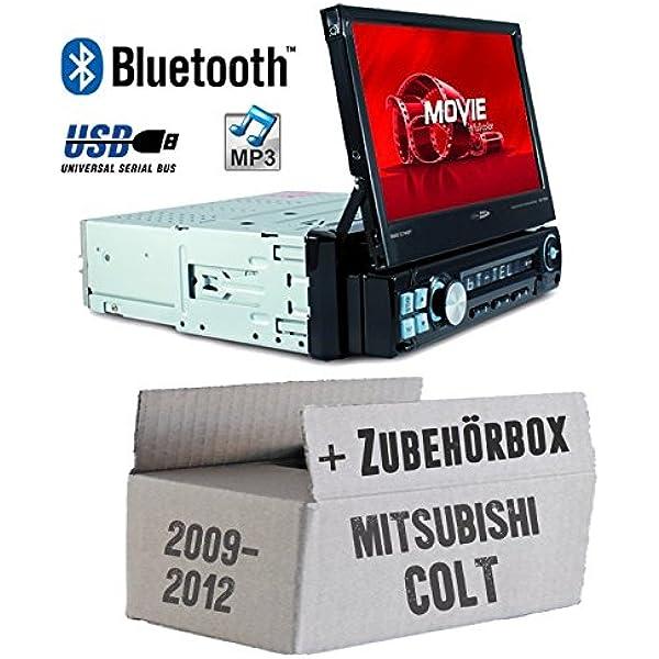 Autoradio Radio Caliber Rmd574bt Bluetooth Mp3 Usb Sd 7 Tft Einbauzubehör Einbauset Für Mitsubishi Colt Bis 2012 Just Sound Best Choice For Caraudio Navigation