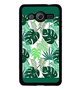 PrintVisa Designer Back Case Cover for Samsung Galaxy Core 2 G355H :: Samsung Galaxy Core Ii :: Samsung Galaxy Core 2 Dual (Leafs Pattern Abstract )