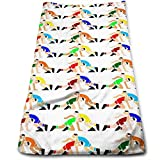 Sangeigt Handtuch, Wrestling Wrestlers Towel Ultra Compact Super Absorbent and Fast Drying Sports Towel Travel Towel Beach Towel Perfect for Camping, Gym, Swimming.