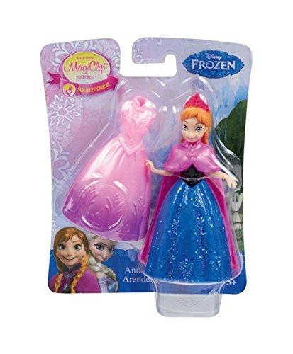 Mattel Y9970 Frozen - Magic Clip Figur - Anna
