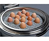 Wärme-Kies für Chafing Dishes, feine Körnung, hohe Wärmespeicherung, kein Verkleben, ideal zum Warmhalten von z.B. Eiern / Gewicht: 7 kg | SUN