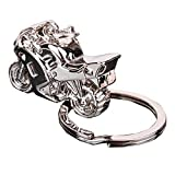 Best buytra Gifts For A Men - Men's Gift Motorcycle design Pendant Charm Key Chain Review