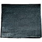 Unitec 75289 - Alfombra antideslizante (60 x 100 cm), color negro