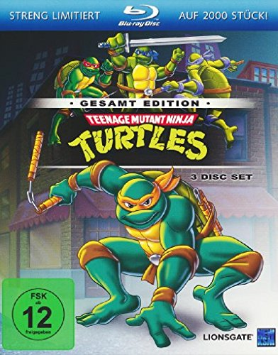 Teenage Mutant Ninja Turtles - Gesamtedition [Blu-ray] [Limited Edition]