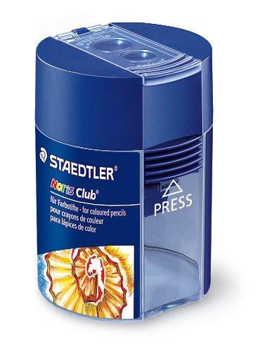Staedtler 512002BKD – Sacapuntas doble con contenedor