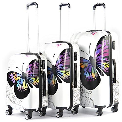 butterfly reisekofferset g nstig kaufen mit erfahrungen. Black Bedroom Furniture Sets. Home Design Ideas