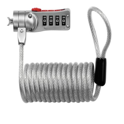 Masterlock M2120Eurdwd - Antirrobo para Ordenador portatil Cifras