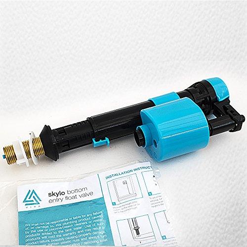 Skylo ½ Zoll (15mm) Messing Schwimmer Verstellbar Für Spülkästen mit Öffnung unten