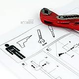 Edelstahl Duschpaneel mit integrierter Kopfbrause und zwei Massagedüsen inkl. Handbrause - 8