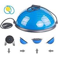 ISE Balance Trainer Ball avec Cables de Resistance Ameliore votre Force, votre Equilibre et votre Coordination BAS1001
