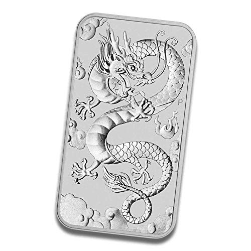 Silberbarren Münzbarren Drache Rectangular 1 Unze (1 Stück (2019)) - Münzen Silber Barren