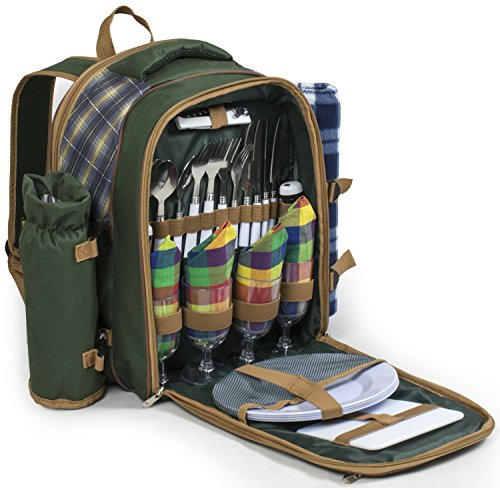 andes-4-person-deluxe-picnic-set-hamper-backpack-rucksack-with-cool-bag