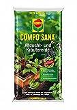 COMPO SANA® Anzucht- und Kräutererde, hochwertige Spezialerde für Aussaaten, Kräuter, Stecklinge und Jungpflanzen, 10 L