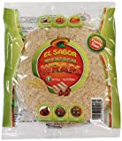 El Sabor Wraps Wholemeal 20 cm (Pack of 12, Total 96 Wraps)