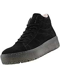TAMARIS Damen Plateau High-Top Sneakers gefüttert Schwarz