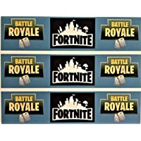 Fortnite Tarta Comestible Cinta Diseño Lateral 1 (Easy Peel Precortado Helado)