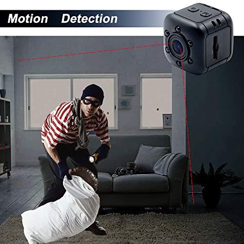 1080P Mini Cam Surveillance Kamera LXMIMI Portable HD Nanny Web Cam mit Nachtsicht und Bewegungserkennung für Home / Office Indoor / Outdoor Security Kamera - 4