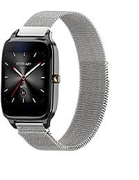 TStrap Milanese Inteligente Correa de Reloj, Smart Watch Reemplazo Banda/Pulsera/Band /Strap de Recambio/5 Colores 18mm